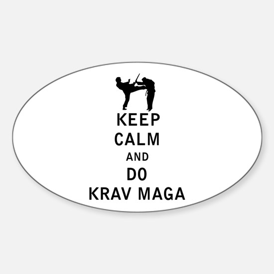 Keep Calm and Do Krav Maga Decal