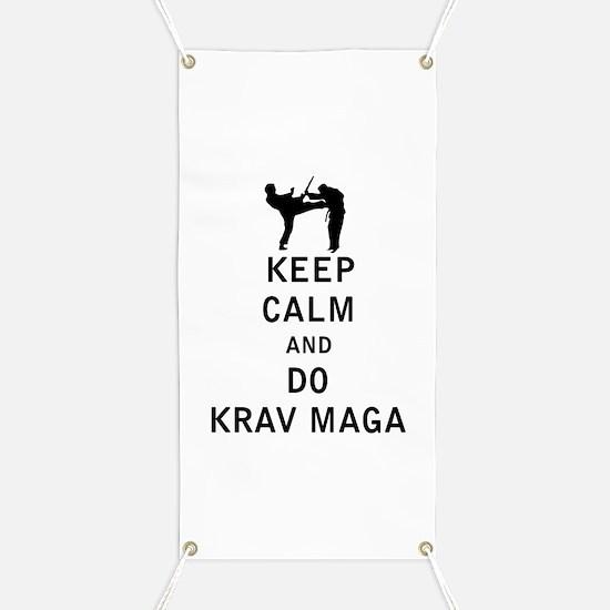 Keep Calm and Do Krav Maga Banner
