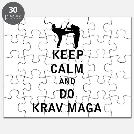 Keep Calm and Do Krav Maga Puzzle