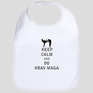 Keep Calm and Do Krav Maga Bib