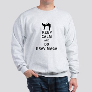 Keep Calm and Do Krav Maga Sweatshirt
