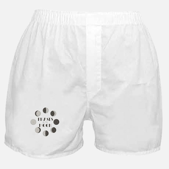 Phases of the Moon Boxer Shorts