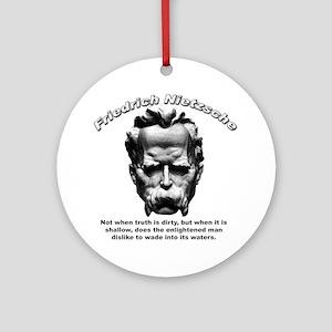 Friedrich Nietzsche 03 Ornament (Round)