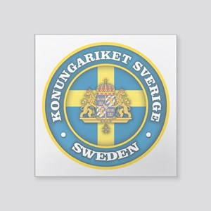 Swedish Medallion Sticker