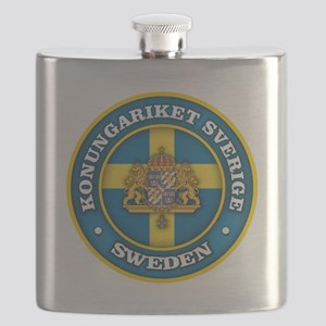 Swedish Medallion Flask