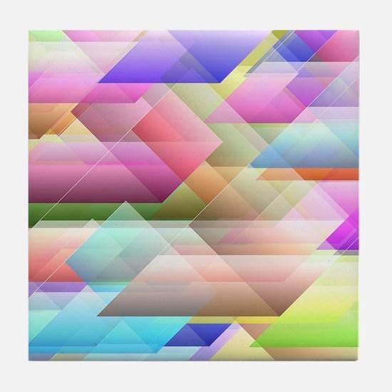 Blurred vision Tile Coaster