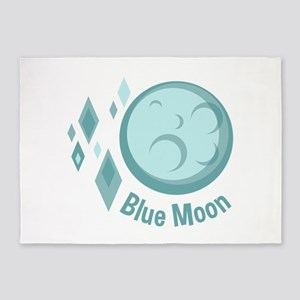 Blue Moon 5'x7'Area Rug