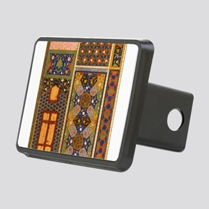 Abstract Arabian patterns Rectangular Hitch Cover