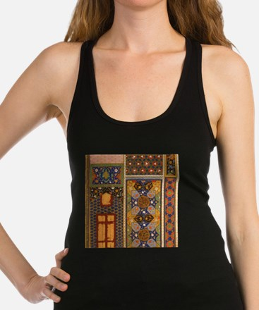 Abstract Arabian patterns Racerback Tank Top
