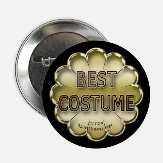 Halloween Best Costume Prize Button