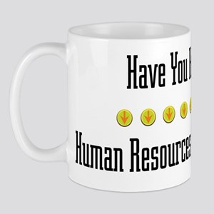 Hugged Human Resources Officer Mug