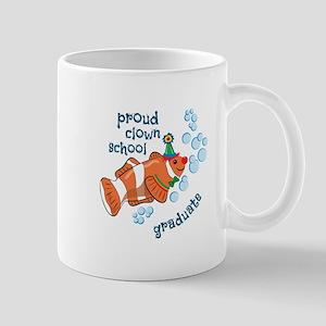 Proud Clown School Graduate Mugs