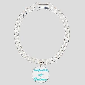 Property Of Jaime Male Charm Bracelet, One Charm