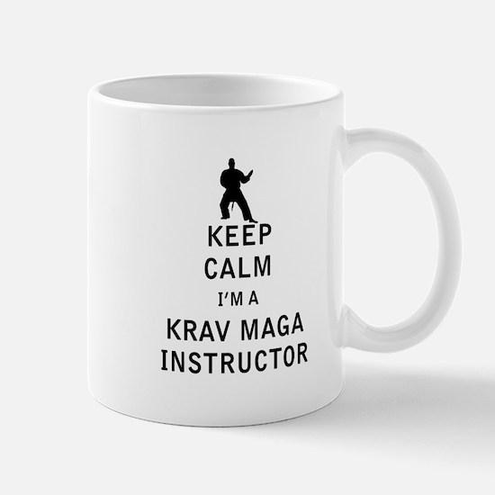 Keep Calm I'm a Krav Maga Instructor Mugs