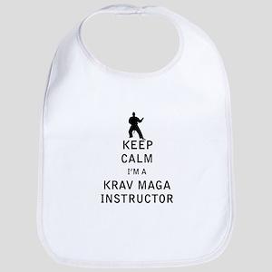 Keep Calm I'm a Krav Maga Instructor Bib