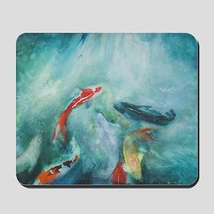 Koi Fish Cool Mousepad