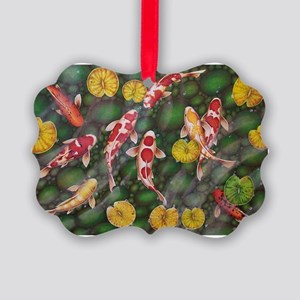Koi Fish Cool Picture Ornament