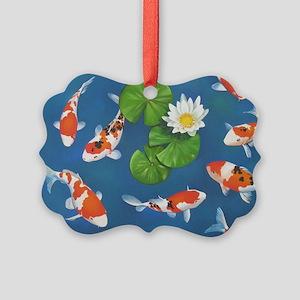 Koi Fish Cool Picture Ornament