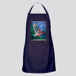 Koi Fish Cool Apron (dark)