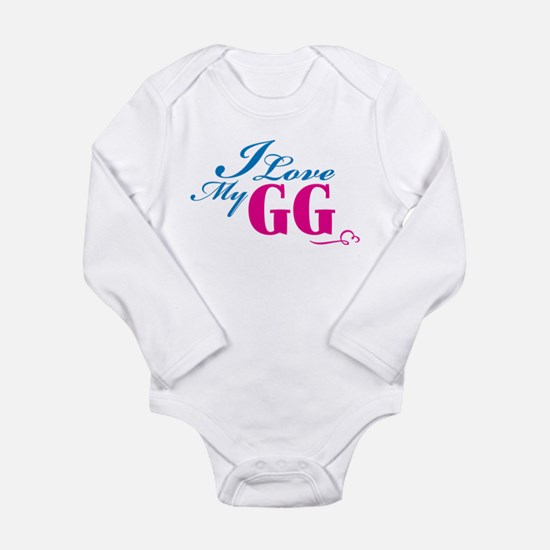 Cute Great grandmother to be Long Sleeve Infant Bodysuit