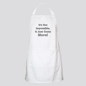 Costs More! BBQ Apron