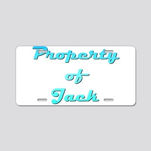 Property Of Jack Male Aluminum License Plate
