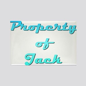 Property Of Jack Male Rectangle Magnet