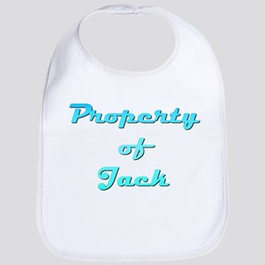 Property Of Jack Male Cotton Baby Bib