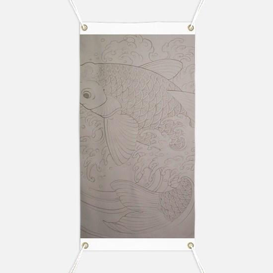 Koi Fish Feng Shui Banner