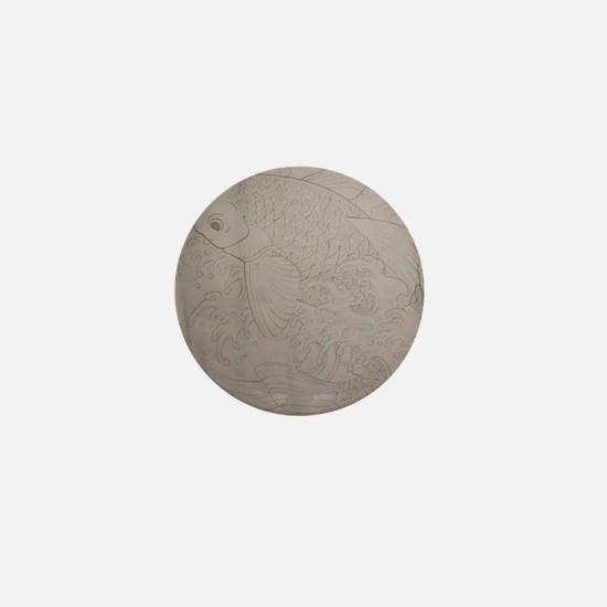 Koi Fish Feng Shui Mini Button
