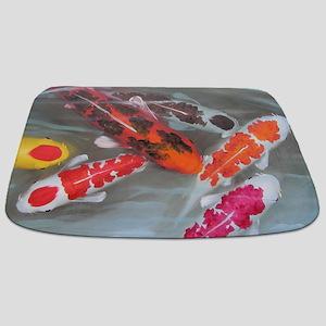 Koi Fish Feng Shui Bathmat