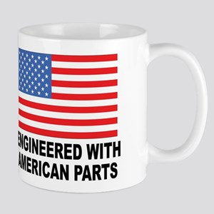 Engineered With American Parts Mug