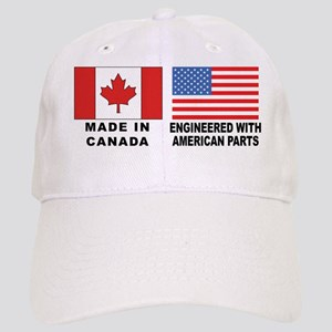 Engineered With American Parts Cap