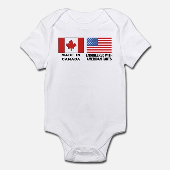 Engineered With American Parts Infant Bodysuit