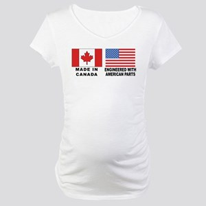 Engineered With American Parts Maternity T-Shirt