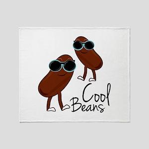 Cool Beans Throw Blanket