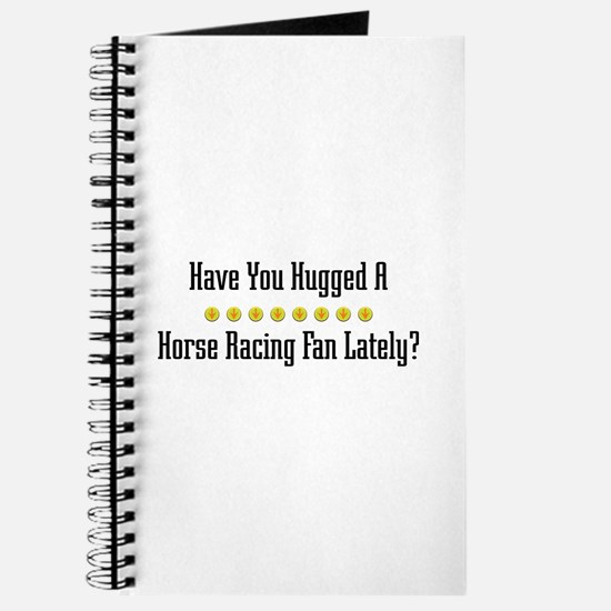 Hugged Horse Racing Fan Journal