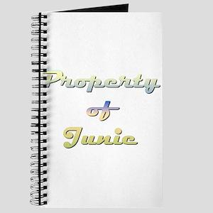 Property Of Junie Female Journal