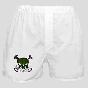 MacNeil Tartan Skull Boxer Shorts