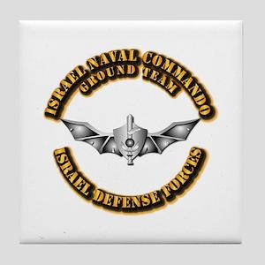 Israel Naval Commando Ground Team Tile Coaster