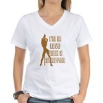 I'm in Love With a Stripper Women's V-Neck T-Shirt