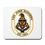 USS JOHN RODGERS Mousepad