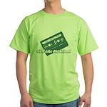 Cool Like Old School Green T-Shirt