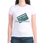 Cool Like Old School Jr. Ringer T-Shirt