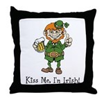 Custom Irish Throw Pillow