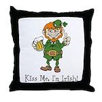 Custom Irish Throw Pillow