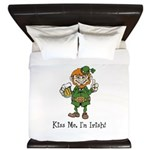 Custom Irish King Duvet