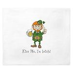 Custom Irish King Duvet