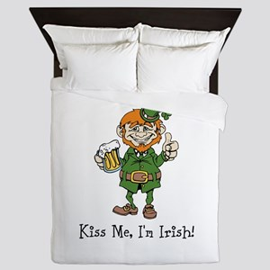 Custom Irish Queen Duvet