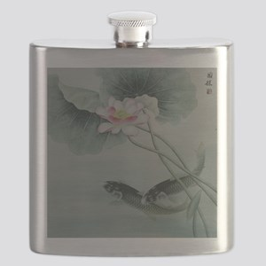 Koi Fish Cute Flask
